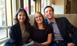 TLPC Student Attorneys Left to Right: Victoria Naifeh, Allison Daley, Conor Stewartson